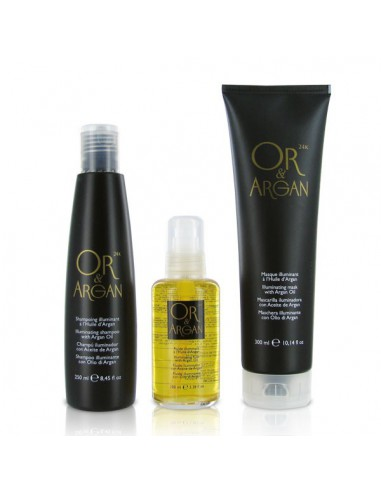 Kit 3 produits Illuminant - Or & Argan