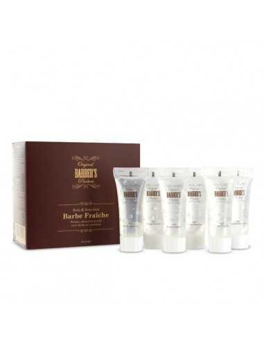 Coffret gel barbe fraîche 6 x 8 ml - Original Barber's Products