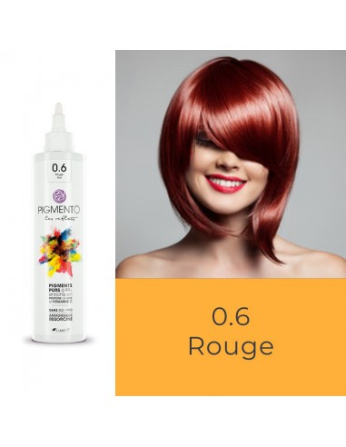 Coloration Pigmento reflet rouge n° 0.6
