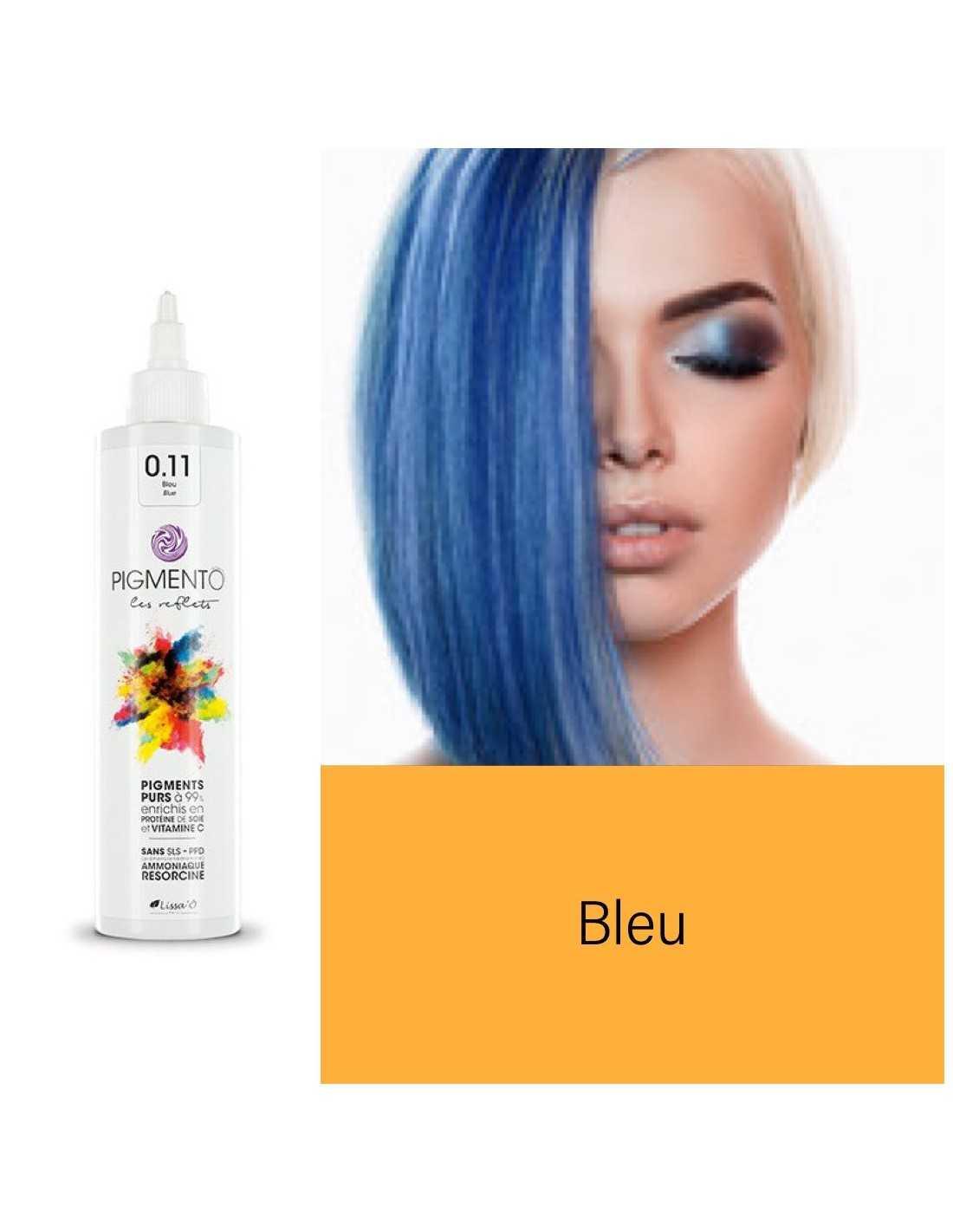 Coloration Pigmento reflet bleu n° 0.11