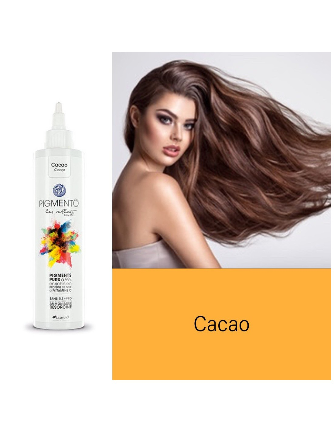 Coloration Pigmento reflet Easy Mix Cacao