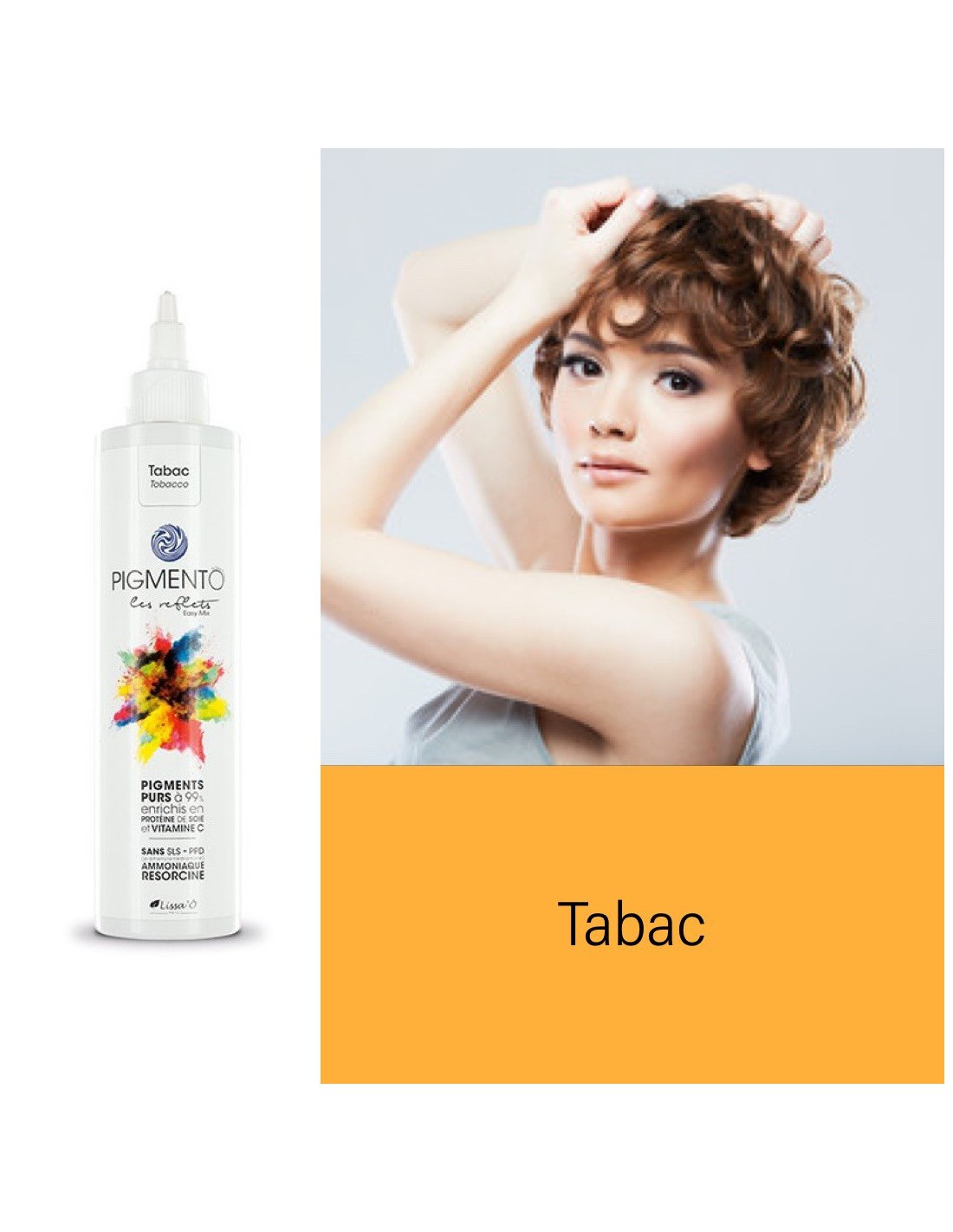 Coloration Pigmento reflet Easy Mix Tabac