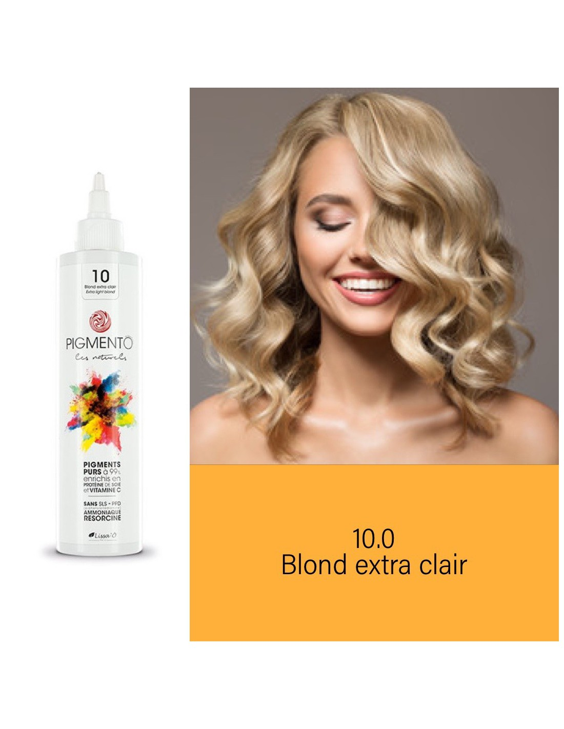 Coloration Pigmento n°10 - Blond extra clair