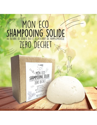 Mon Eco shampooing solide Nuwee