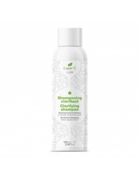Shampooing clarifiant 100 ml Lissa'Ô préparateur lissage